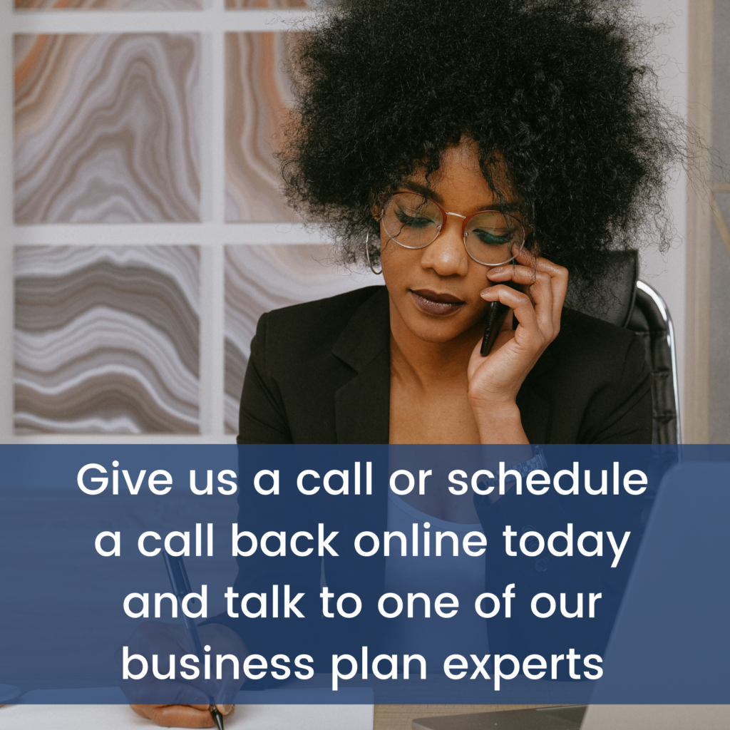 Call business plan experts